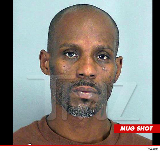 DMX Arrested