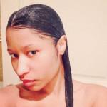 Nicki Minaj Is Naked, Wet & Makeup Free In New Photos [6 Pics Inside] 1