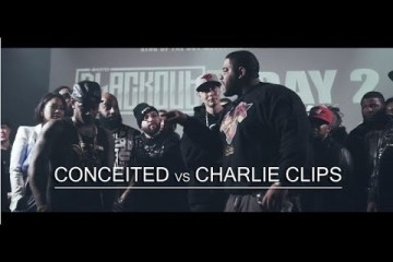 King Of The Dot – Charlie Clips vs Conceited (Rap Battle Video)