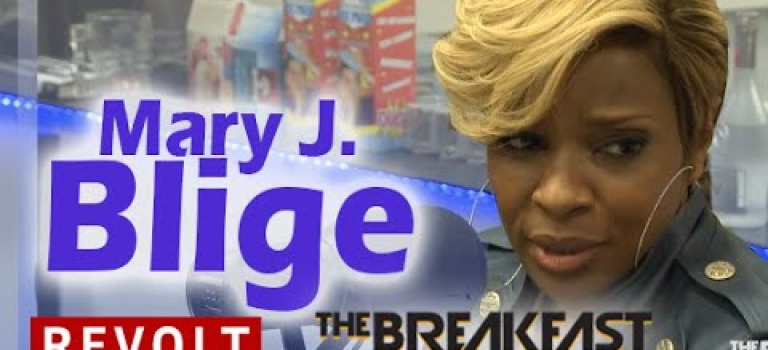 Mary J. Blige Interview at The Breakfast Club Power 105.1