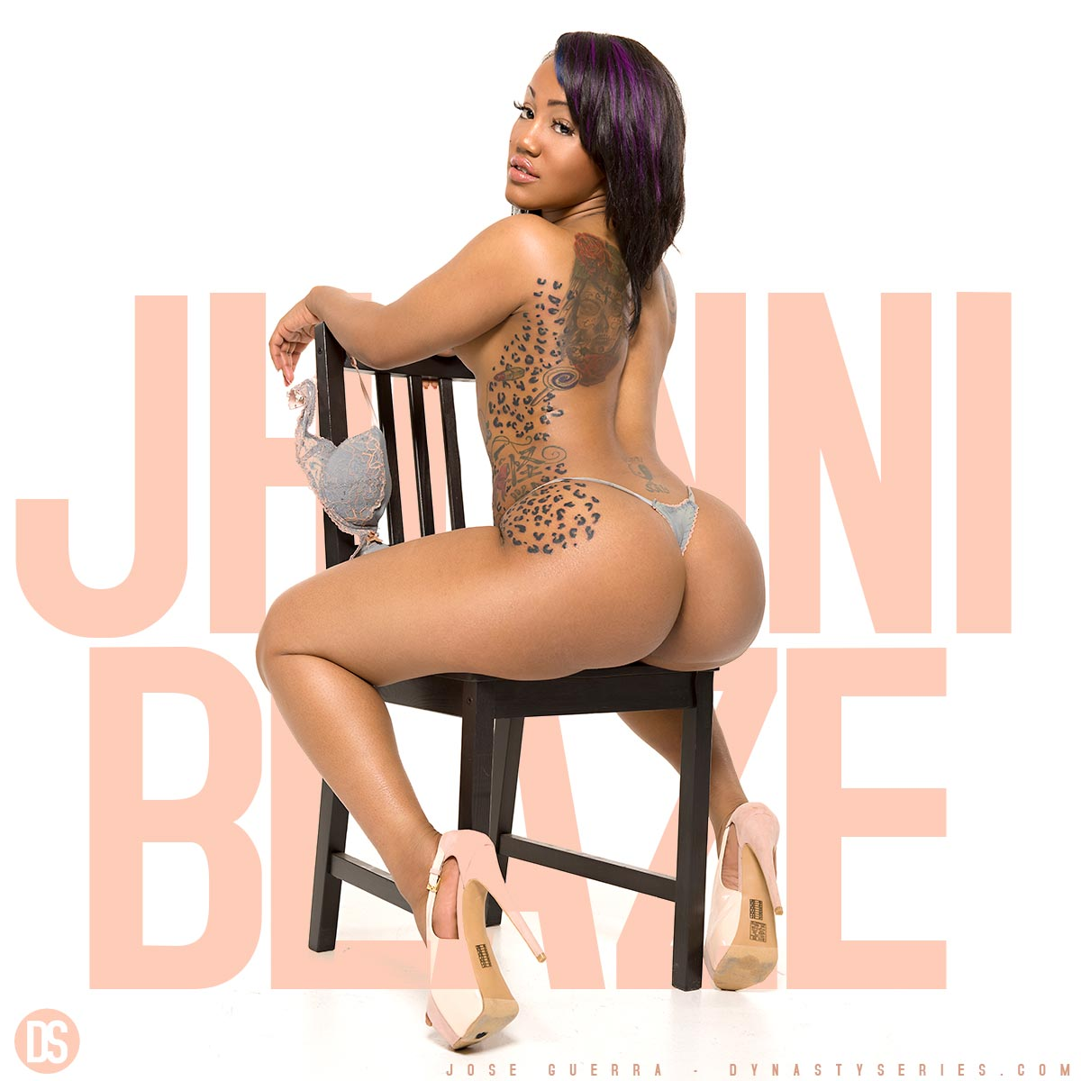 Jhonni Blaze Grey Blaze #TastyModel  4