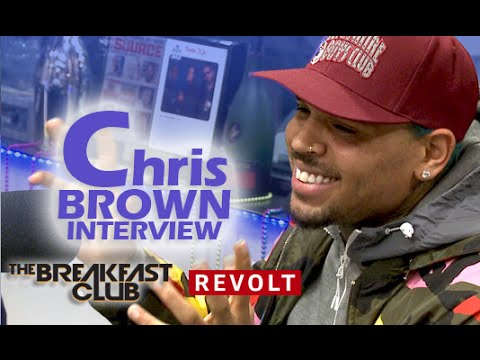 Chris Brown at The Breakfast Club Power 105.1
